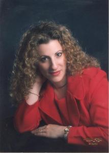 Christina red dress - Christina Amato